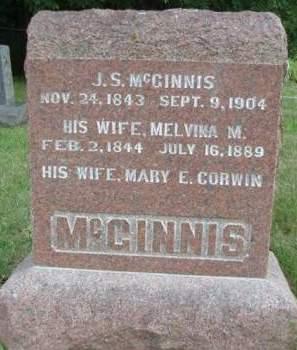 MCGINNIS, MELVINA M. - Madison County, Iowa | MELVINA M. MCGINNIS