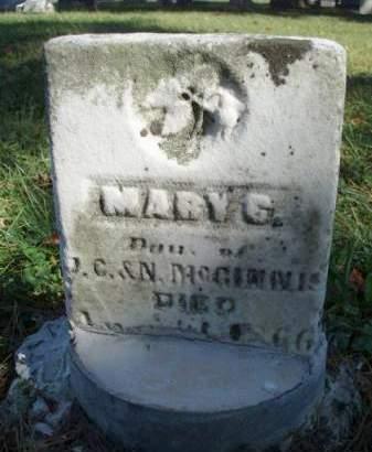 MCGINNIS, MARY C. - Madison County, Iowa   MARY C. MCGINNIS