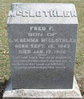 MCGLOTHLEN, FRED F. - Madison County, Iowa | FRED F. MCGLOTHLEN