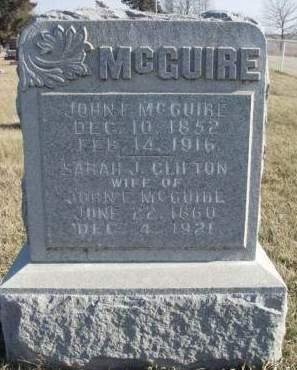 MCGUIRE, SARAH J. - Madison County, Iowa | SARAH J. MCGUIRE