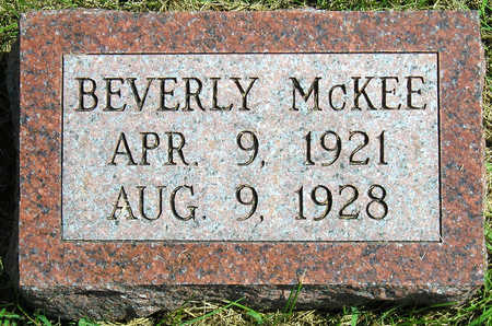 MCKEE, NINA BEVERLY - Madison County, Iowa | NINA BEVERLY MCKEE
