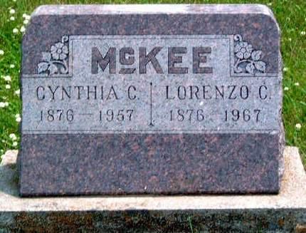 MCKEE, CYNTHIA CORDELIA - Madison County, Iowa | CYNTHIA CORDELIA MCKEE