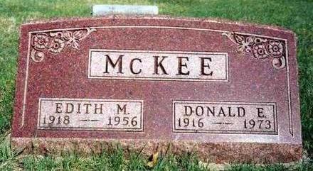 MCKEE, EDITH M. - Madison County, Iowa | EDITH M. MCKEE