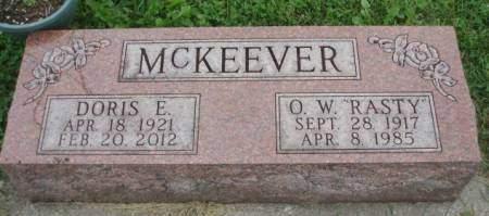 MCKEEVER, DORIS EDITH - Madison County, Iowa | DORIS EDITH MCKEEVER