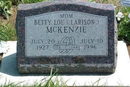 MCKENZIE, BETTY LOU - Madison County, Iowa | BETTY LOU MCKENZIE