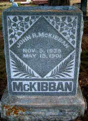 MCKIBBAN, JOHN R. - Madison County, Iowa | JOHN R. MCKIBBAN