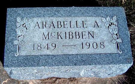MCKIBBEN, ARABELLE AZUBA - Madison County, Iowa | ARABELLE AZUBA MCKIBBEN