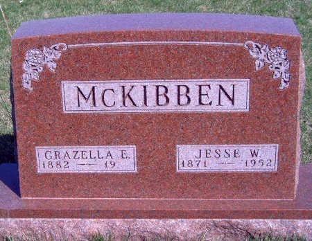 MCKIBBEN, GRAZELLA  E - Madison County, Iowa | GRAZELLA  E MCKIBBEN