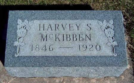 MCKIBBEN, HARVEY STUART - Madison County, Iowa | HARVEY STUART MCKIBBEN