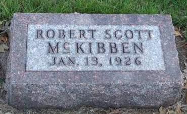 MCKIBBEN, ROBERT SCOTT - Madison County, Iowa | ROBERT SCOTT MCKIBBEN