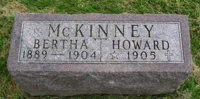 MCKINNEY, BERTHA - Madison County, Iowa | BERTHA MCKINNEY