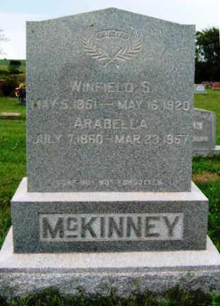 MCKINNEY, GERTRUDE ARABELLA - Madison County, Iowa | GERTRUDE ARABELLA MCKINNEY