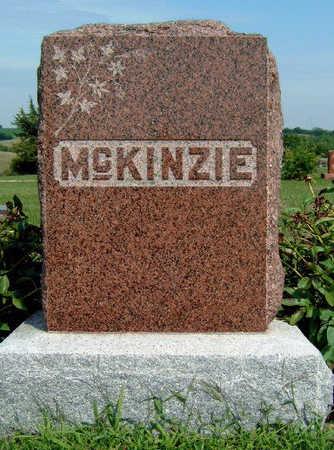 MCKINZIE, FAMILY STONE - Madison County, Iowa   FAMILY STONE MCKINZIE