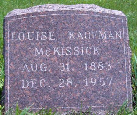 MCKISSICK, LOUISE - Madison County, Iowa | LOUISE MCKISSICK