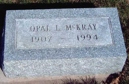 MCKRAY, OPAL L. - Madison County, Iowa | OPAL L. MCKRAY