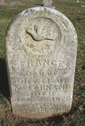 MCLARNAND, E. FRANCES - Madison County, Iowa | E. FRANCES MCLARNAND