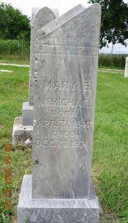 MCMICHAEL, MARY ELIZABETH - Madison County, Iowa | MARY ELIZABETH MCMICHAEL