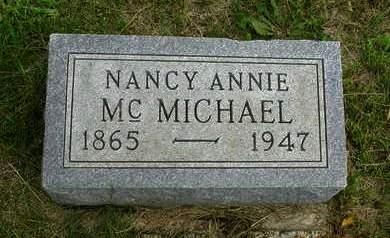 MCMICHAEL, NANCY ANNIE - Madison County, Iowa | NANCY ANNIE MCMICHAEL