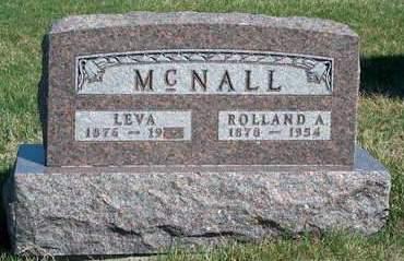 MCNALL, OLIVIA NANCY (LEVA) - Madison County, Iowa | OLIVIA NANCY (LEVA) MCNALL