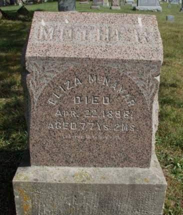 MCNAMAR, ELIZA JANE - Madison County, Iowa | ELIZA JANE MCNAMAR