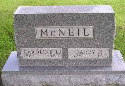 MCNEIL, HARRY HALLAM - Madison County, Iowa | HARRY HALLAM MCNEIL