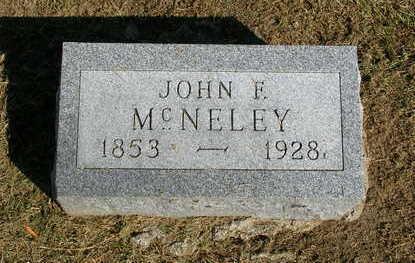 MCNELEY, JOHN FARLEIGH - Madison County, Iowa | JOHN FARLEIGH MCNELEY