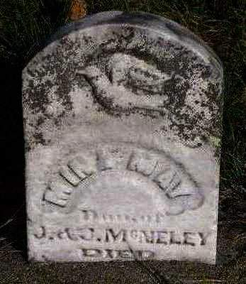 MCNELEY, MINA MAY - Madison County, Iowa | MINA MAY MCNELEY