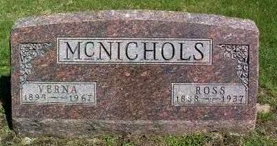 MCNICHOLS, WILLIAM ROSS - Madison County, Iowa | WILLIAM ROSS MCNICHOLS