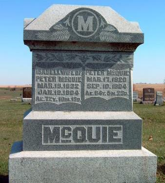 MCQUIE, ISABELL - Madison County, Iowa | ISABELL MCQUIE