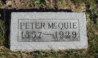 MCQUIE, PETER - Madison County, Iowa | PETER MCQUIE