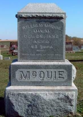 MCQUIE, WILLIAM - Madison County, Iowa | WILLIAM MCQUIE