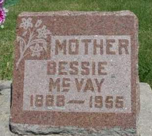 MCVAY, BESSIE - Madison County, Iowa | BESSIE MCVAY