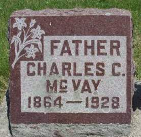 MCVAY, CHARLES CHRISTOPHER - Madison County, Iowa   CHARLES CHRISTOPHER MCVAY