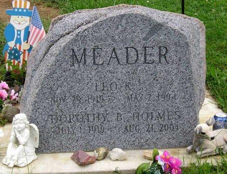MEADER, DOROTHY BELLE - Madison County, Iowa | DOROTHY BELLE MEADER