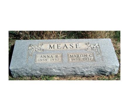 MEASE, ANNA ROBERTA - Madison County, Iowa | ANNA ROBERTA MEASE