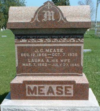 MEASE, JOHN CYRUS - Madison County, Iowa | JOHN CYRUS MEASE