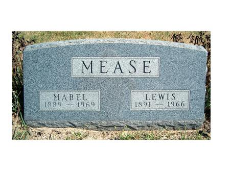 MEASE, MABEL - Madison County, Iowa | MABEL MEASE
