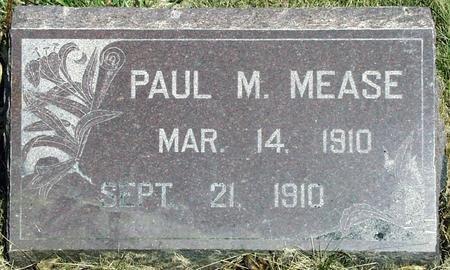 MEASE, PAUL MARTIN - Madison County, Iowa | PAUL MARTIN MEASE