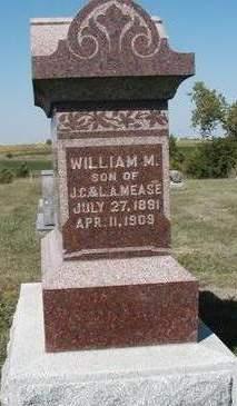 MEASE, WILLIAM MARTIN - Madison County, Iowa | WILLIAM MARTIN MEASE
