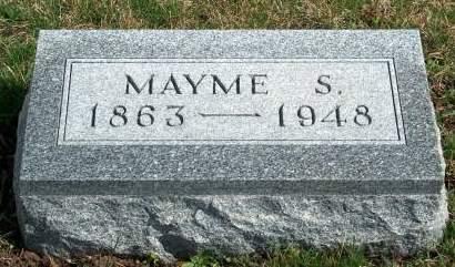 MENDENHALL, MARY ETTA (MAYME) - Madison County, Iowa | MARY ETTA (MAYME) MENDENHALL
