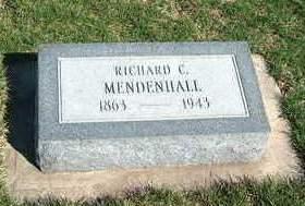 MENDENHALL, RICHARD CLINTON - Madison County, Iowa | RICHARD CLINTON MENDENHALL