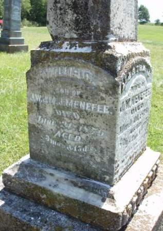 MENEFEE, WILLIE C. - Madison County, Iowa   WILLIE C. MENEFEE
