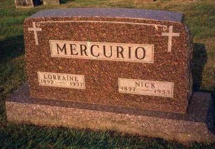 MERCURIO, RHODA LORRAINE - Madison County, Iowa | RHODA LORRAINE MERCURIO