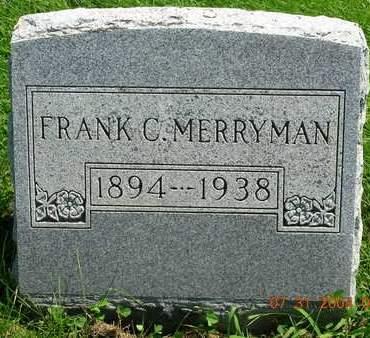 MERRYMAN, FRANKLIN CLINTON (FRANK) - Madison County, Iowa   FRANKLIN CLINTON (FRANK) MERRYMAN