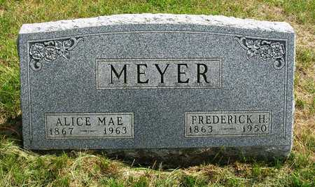 MEYER, FREDERICK HENRY - Madison County, Iowa   FREDERICK HENRY MEYER