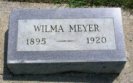 MEYER, WILHELMINA KATHERINE (WILMA) - Madison County, Iowa | WILHELMINA KATHERINE (WILMA) MEYER