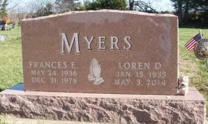 MYERS, LOREN DWIGHT - Madison County, Iowa | LOREN DWIGHT MYERS