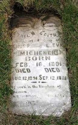 MICHENER, ETHEL M. - Madison County, Iowa | ETHEL M. MICHENER