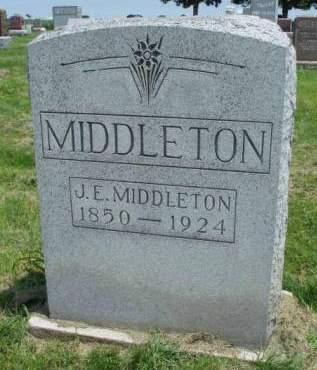 MIDDLETON, JOSEPH EVANS - Madison County, Iowa | JOSEPH EVANS MIDDLETON