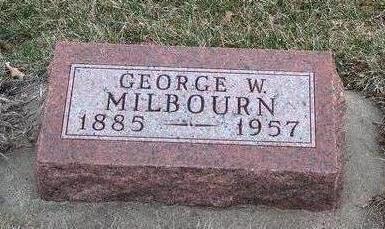 MILBOURN, GEORGE WASHINGTON - Madison County, Iowa | GEORGE WASHINGTON MILBOURN